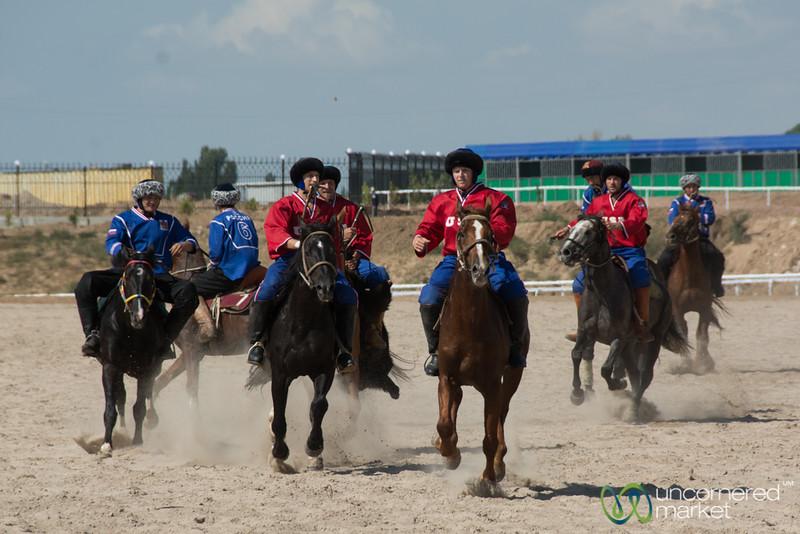 U.S. Kok-boru (Goat Polo) Team - World Nomad Games, Kyrgyzstan