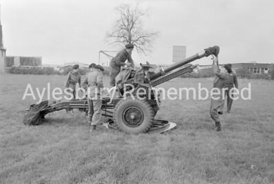 Territorial Army Exercises, Apr 1971