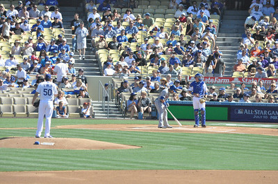 Mets at Dodgers First Inning 30 June 2012