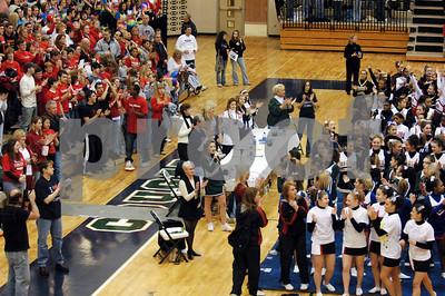 3/3/07 MHSAA Competitive Cheer Regional Meet at Dakota HS Featuring Dakota, Chippewa Valley, and Troy Athens Varsity Teams - John
