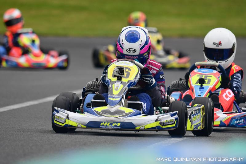 Motorsport Ireland Karting Championship 2019 - Round 3 - Whiteriver - Éimear Carey