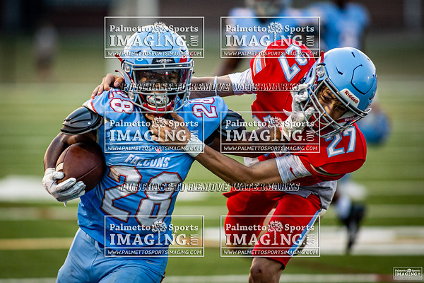 AC Flora Red vs Blue Spring Football game