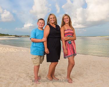 The Cowan Family Sunset Photography on Panama City Beach
