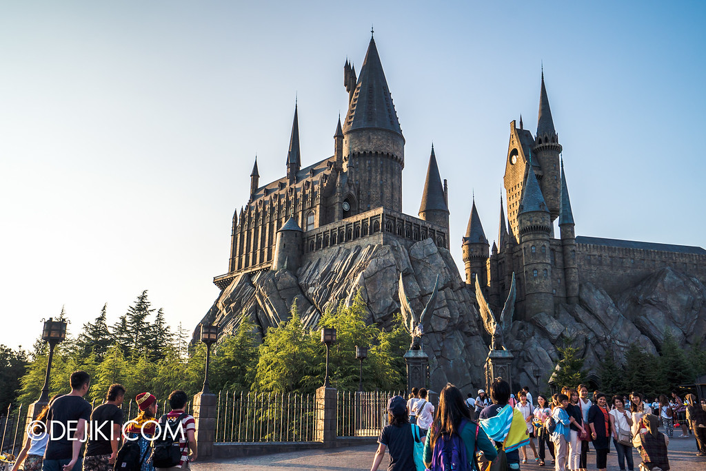 Universal Studios Japan - The Wizarding World of Harry Potter - Hogwarts Castle grand far