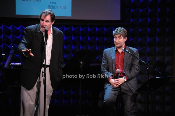 Richard Kind, Scott Schwartz photo by Rob Rich © 2014 robwayne1@aol.com 516-676-3939