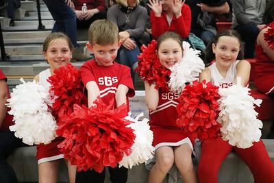 LS Little Dragon Cheerleaders 1-12-19