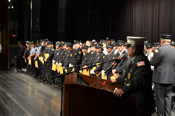 September 25, 2015 - Bergen County, NJ Firefighter Graduation