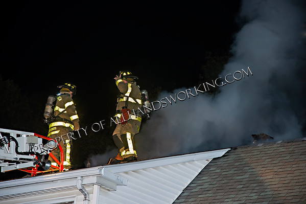 West Haven 68 Marshall St Chimney fire w/extension