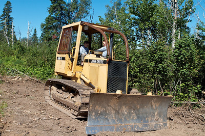 Zeke & Cio on the Dozer