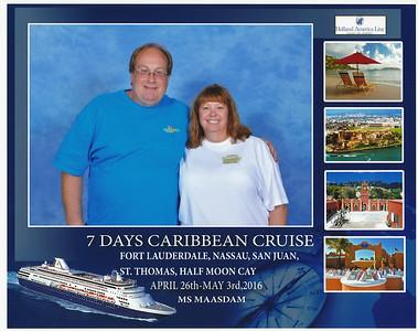 Cruise 15  Caribbean - Ms Maasdam