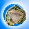 Top of the Hill at Vomo Island - Fiji Islands