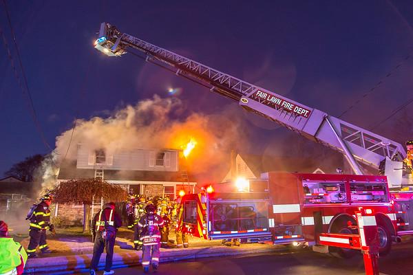 Fair Lawn NJ 3rd alarm, 8-35 Oak St. 01-08-20