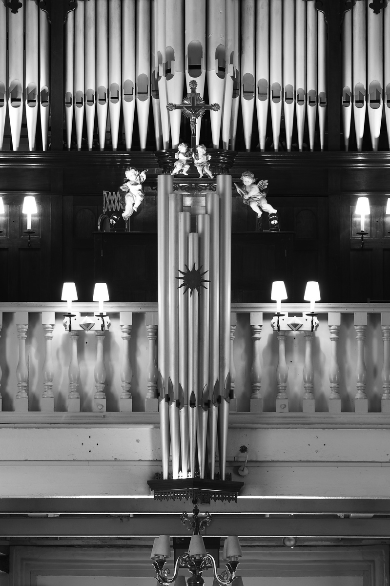 Cathedral of the Good Shepherd bevington navaratnam organ facade ruckpositiv Singapore