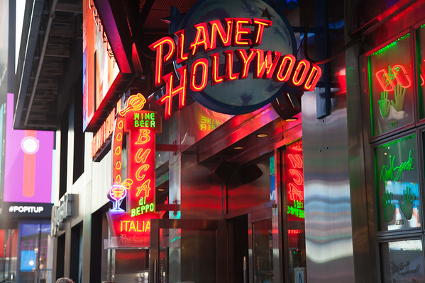 Hard Rock Cafe  &  Planet Hollywood