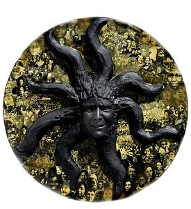 Black Medusa by Cristina Biaggi