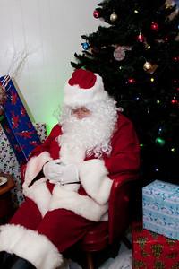 Santa and the Christmas Parade
