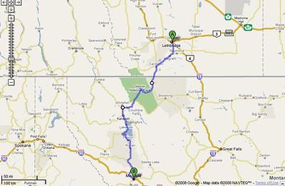 2008/July 7 - to Missoula, MT