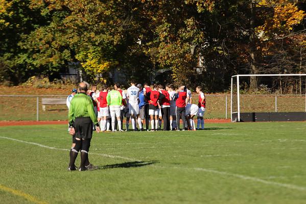 PR Varsity Soccer Playoffs vs Nanuet 10-24-16