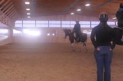 Horse clinic Jennifer Bauer