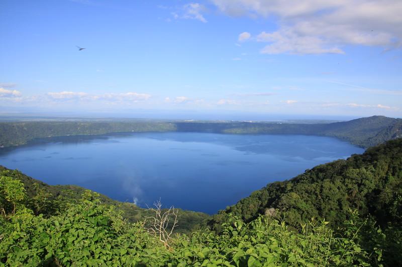 Laguna di Apoyo (blown out volcano 2000' deep)