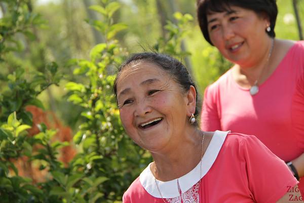 Portrait Kyrgyzstan: singer