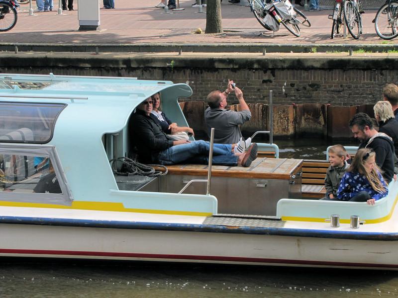 37-Enjoying a boat tour, snapping Westerkerk.