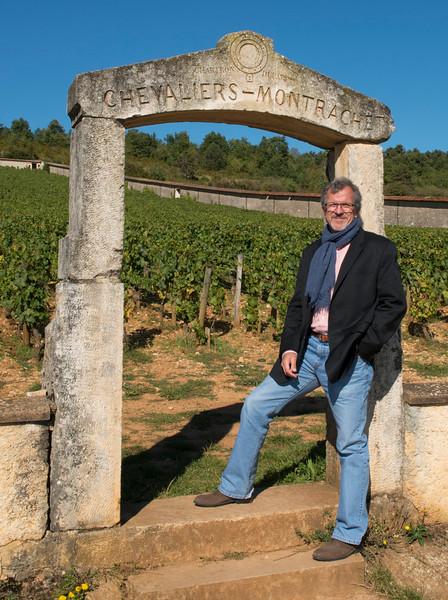 Burgundy Grand Cru vineyard