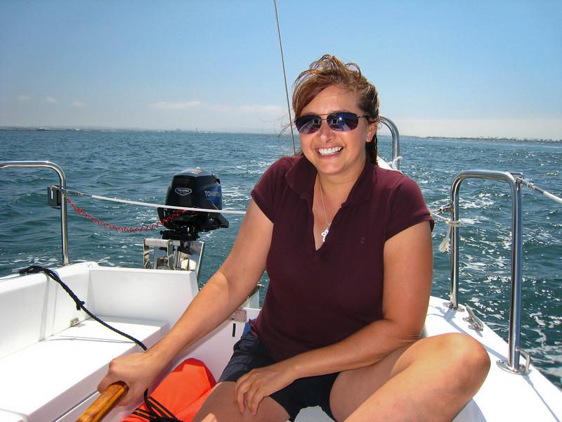 2008/09/01 - Jen's First Sailing Trip