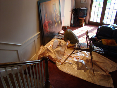 MICHAEL NEWBERRY - restoring his work
