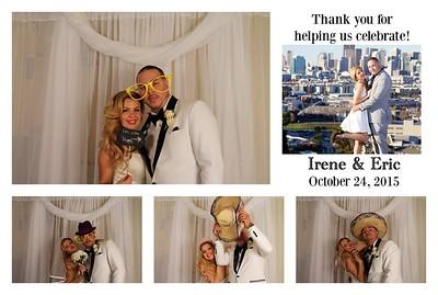 Irene & Eric's Photo Booth