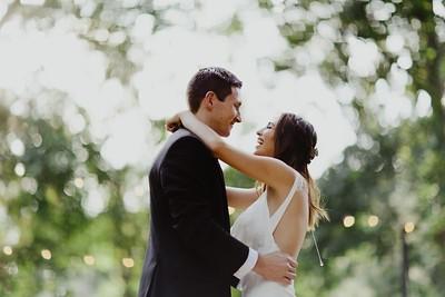 Patrick & Rachel. Married.