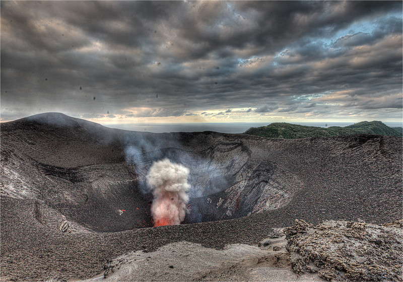 Yasur Voplcano Eruption