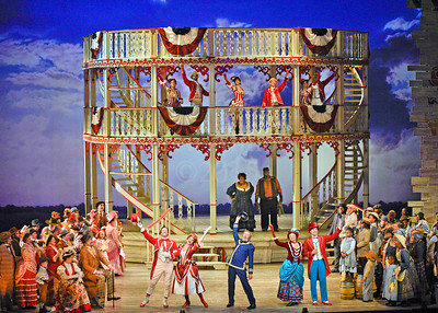 Show Boat Piano and First Dress