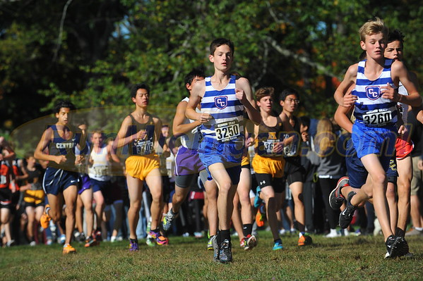 Boys' Reserves - 2016 Oakland County XC Championships
