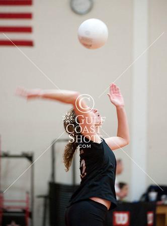2009-09-08 Volleyball - Girls - Varsity - HCYA at SJS