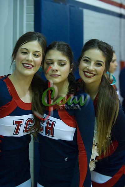 2016 TC Danceteam and Cheerleaders at NHS Game