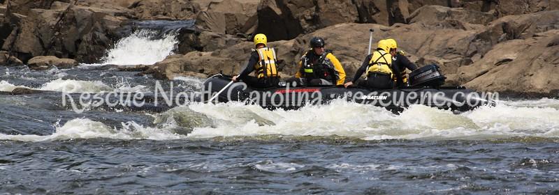 Gaston Fire Dept.; TR Water Rescue; August 2013