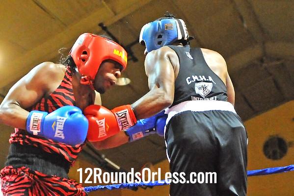 Bout 7 Octavius Webb, Bob Davis BC -vs-  Kato Montgomery, Untouchable BA, 178 lbs, Open