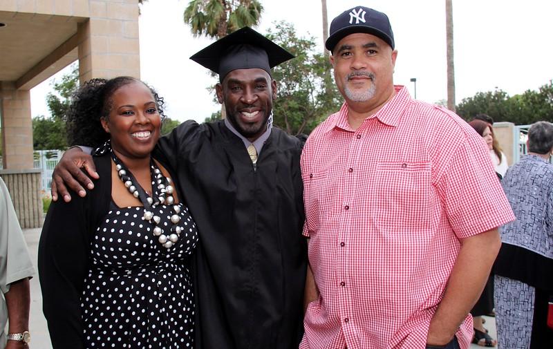 Kenneth Foster Graduation