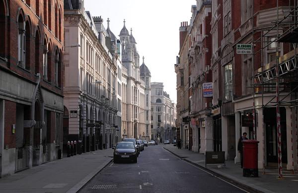 Chancery Lane, Lincolns Inn Fields and Fleet Street London