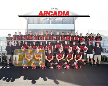 Arcadia football FB19