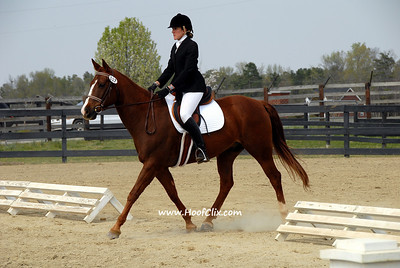 Allison Poelke and My Big Red 117