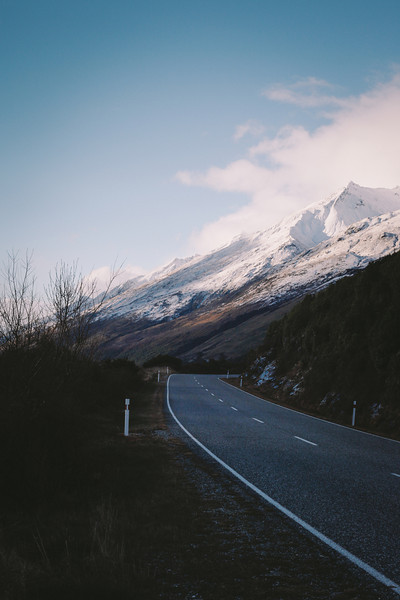 Road to the White mountains - Queenstown, New Zealand