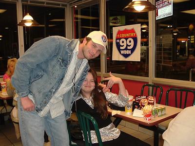Valentine's Day Dinner at Krystal 02/07