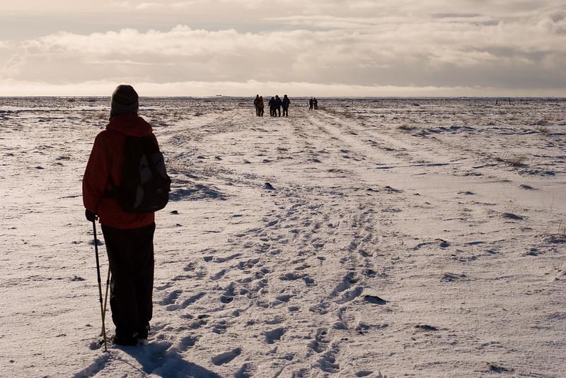 Erum við á flugbrautinni? Are we on the runway?