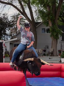 Emma & Karen's Bull Ride