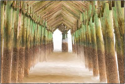 Long Exposure at Folly Beach Pier