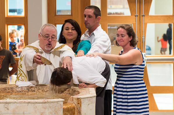 St Matthew Youth Faith Formation Baptism