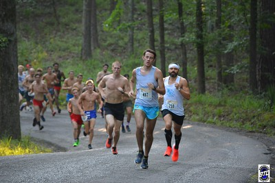 2019 Peavine Falls Run - On the Course