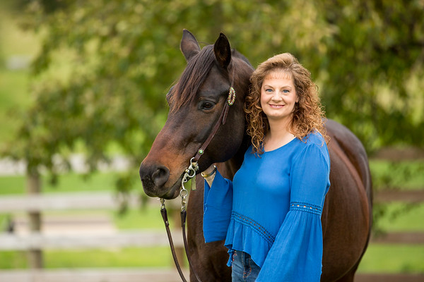 Helen and Cocoa 2019- Equine